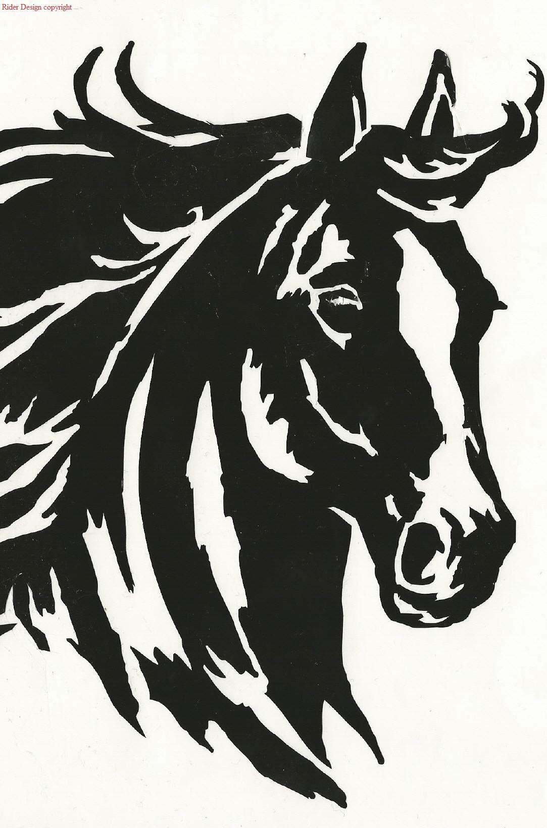 pferdeaufkleber f r autos aufkleber mit pferden. Black Bedroom Furniture Sets. Home Design Ideas